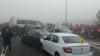 GRAV ACCIDENT pe Autostrada Soarelui! Sunt 3 MORŢI şi peste 50 de RĂNIŢI (FOTO)
