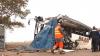 ACCIDENT GRAV în Franţa: Un om mort şi trei răniți, după ce un autobuz s-a ciocnit cu un camion (VIDEO)