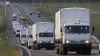 Un convoi umanitar cu medicamente şi produse alimentare din Rusia a ajuns în estul Ucrainei