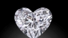 A fost creat cel mai mare DIAMANT EXCLUSIV din lume în formă de inimă