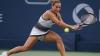 Tenismena Dominika Cibulkova şi-a prezentat trofeul, după ce a învins-o pe Angelique Kerber