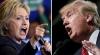 Clinton versus Trump. În preajma scrutinului, cei doi au împărţit populația Americii în două tabere
