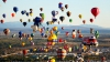 Festivalului baloanelor cu aer cald în Mexic. Priveliștea de poveste a fost admirată de 500.000 de oameni