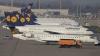 Greva piloților Lufthansa a fost prelungită până vineri