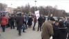 Un nou protest eşuat al unioniştilor, faţă de rezultatele alegerilor prezidenţiale