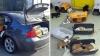 TRATAMENT INUMAN! Un contrabandist, prins cu 47 de căţei în maşină (FOTO)