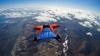ZBOR INFERNAL CU WINGSUIT-UL. Jumperii au atins viteza de 236 de kilometri pe oră