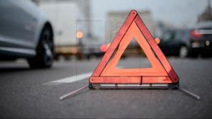 A alunecat circa 40 de metri înainte de IMPACT! Rezultatul nerespectării distanţei de siguranţă în trafic (FOTO)