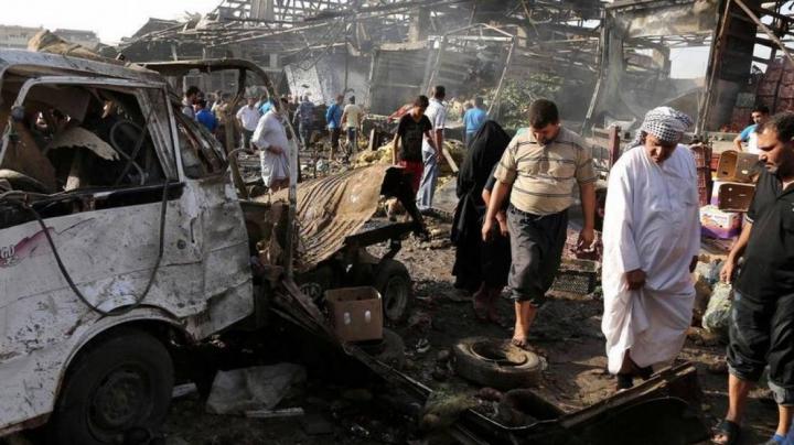 """Ce se întâmplă în Irak după un """"atac cu bombă"""" (VIDEO VIRAL)"""