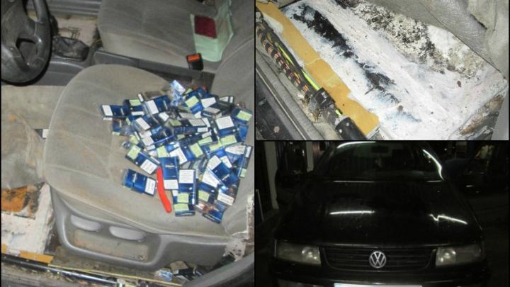 Peste 43 000 de țigarete destinate comercializării ilegale, reținute de vameșii de la Sculeni