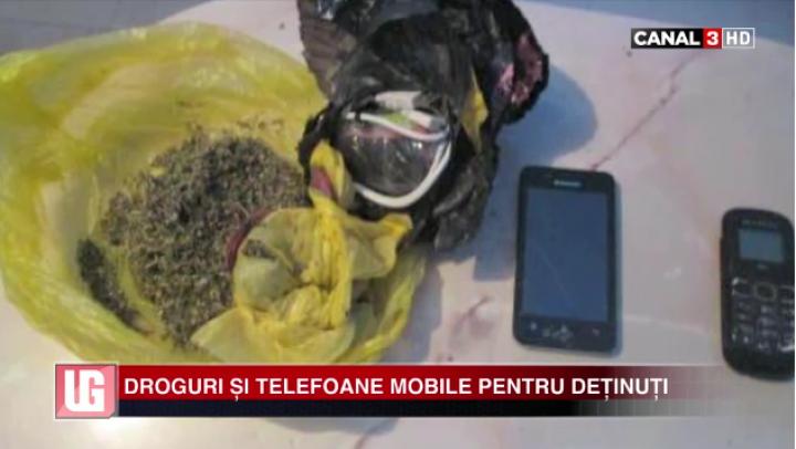 TENTATIVĂ CU GHINION! Droguri și telefoane mobile pentru deținuți (VIDEO)