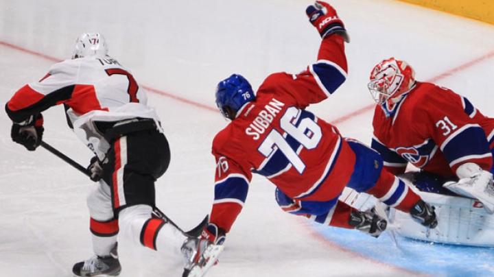 Seară plină de surprize în NHL! Montreal Canadies, devastat pe teren propriu de Ottawa Senators