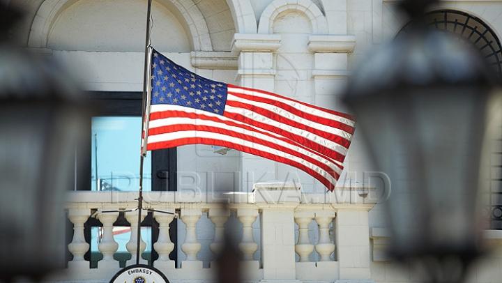 Ambasada SUA în Moldova își închide pagina de internet, pe perioada pauzei guvernamentale. Serviciile consulare şi de viză continuă