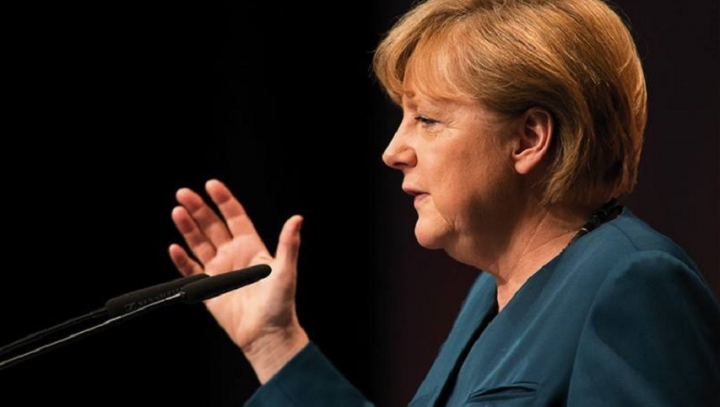 Angela Merkel a discutat cu Donald Trump despre continuarea relaţiilor bilaterale germano-americane