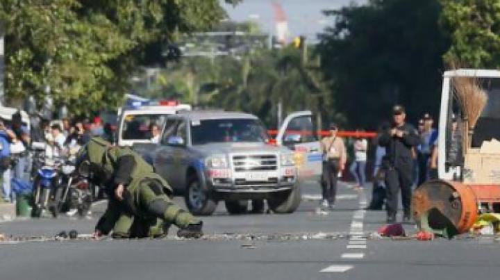 ALERTĂ: A fost descoperită o bombă în apropiere de Ambasada SUA din Manila