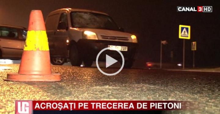 Două persoane, lovite de o maşină pe trecerea de pietoni în sectorul Ciocana. Care este starea lor de sănătate (VIDEO)