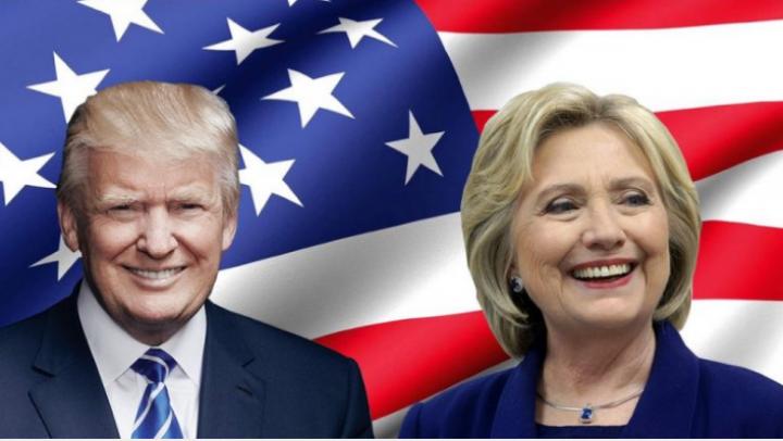 Donald Trump versus Hillary Clinton. HARTA celor două Americi din 2016