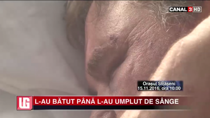 ÎNGROZITOR! Un bărbat A FOST BĂTUT cu CRUZIME de doi indivizi (VIDEO)