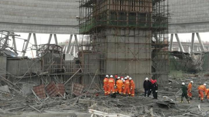 TRAGEDIE în China! Zeci de morţi după ce o staţie electrică s-a prăbuşit
