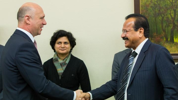 Republica Moldova şi India îşi vor intensifica colaborarea bilaterală