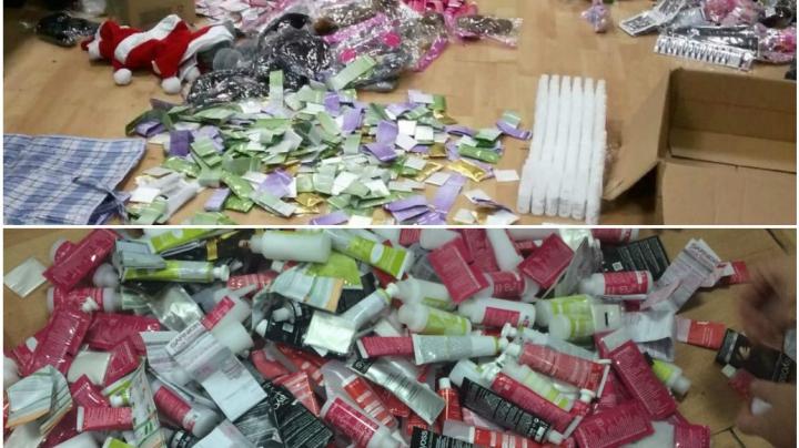 Produse de larg consum, confiscate de Echipele mobile ale Serviciului Vamal