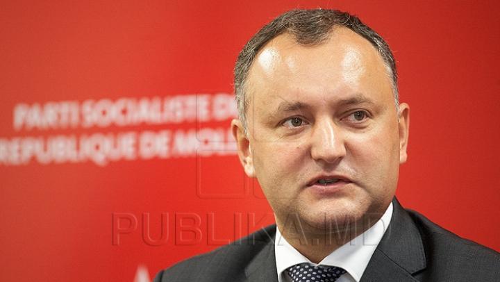 Igor Dodon părăseşte PSRM-ul. Ce se va întâmpla cu partidul