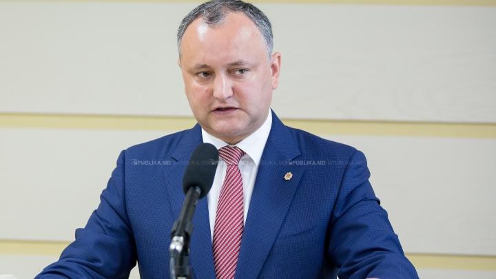 REACŢIA Preşedinţiei la faptul că Mihai Ghimpu intenţionează să-l demită pe Igor Dodon