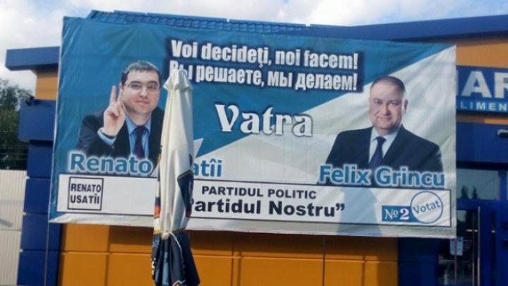 """Activistul """"Partidului Nostru"""", Felix Grincu, a fost reținut pentru 72 de ore"""