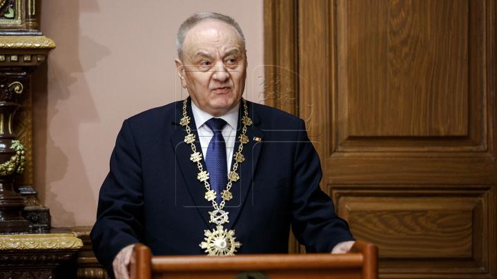 Mesajul preşedintelui Timofti de Ziua României: Vom reuși, şi pe viitor, să fructificăm colaborarea bilaterală
