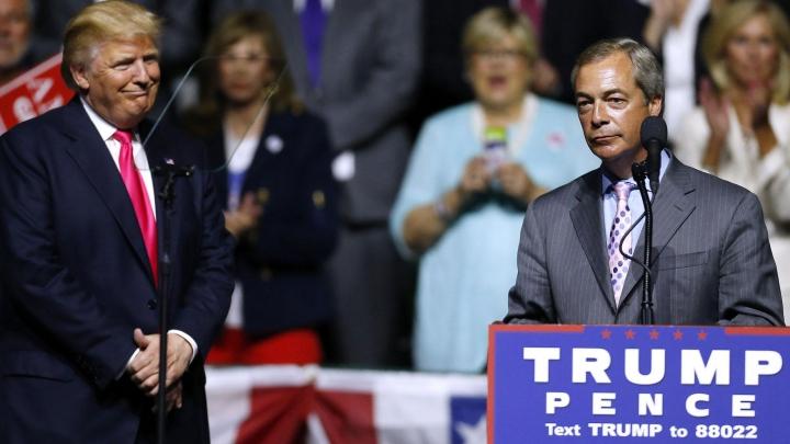 Trump, prima întâlnire cu un politician străin după alegeri