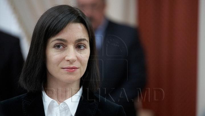 Maia Sandu refuză să participe la dezbaterile cu privire la schimbarea sistemului electoral