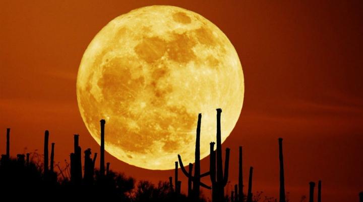 Fenomen astronomic SPECTACULOS! CÂND va fi vizibilă cea mai mare Super Lună din ultimii 70 de ani