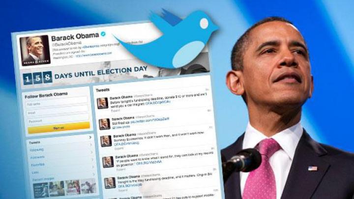 Barack Obama îi va oferi succesorului său cei 11 milioane de abonați ai săi pe Twitter