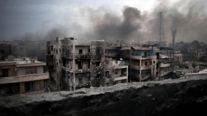 Oraşul sirian Alep a rămas FĂRĂ spitale în stare funcţională după bombardamentele aeriene
