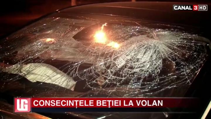 De la bal la spital! Un şofer aghezmuit a provocat un accident şi a pus în pericol o altă viaţă
