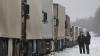 Ger de crapă pietrele! 35 de tiruri au rămas BLOCATE pe o şosea din Rusia, din cauza temperaturilor extreme