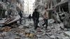 Armata siriană a suspendat, din nou, operațiunile de evacuare a oamenilor din estul orașului Aleppo