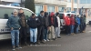 13 cetăţeni irakieni si sirieni, prinşi în timp ce încercau să iasă ilegal din România