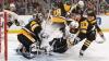 Victorie dificilă pentru Penguins în NHL. Echipa din Pittsburgh a câştigat la limită Boston Bruins