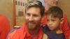 EMOŢIONANT! Un băiețel afgan, fan al lui Messi, și-a întâlnit eroul (VIDEO)