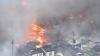 Un incendiu izbucnit într-un restaurant a adus IADUL în Japonia: Peste 140 de case au ars
