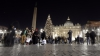 S-au aprins luminițele din Pomul de Crăciun de la Vatican. Ornamentele, create de copii bolnavi de cancer