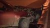 ACCIDENT GRAV în Capitală! Două maşini s-au făcut zob după o ciocnire violentă