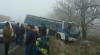 ACCIDENT DE GROAZĂ la Ştefan Vodă. Un autobuz cu pasageri S-A LOVIT VIOLENT cu un camion