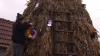 Povestea lui Marin Pânzaru, creatorul celui mai original Pom de Crăciun din Moldova