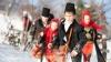 TRADIŢII DE IARNĂ LA NIMORENI. Ansamblul folcloric din localitate a pregătit un program festiv pentru săteni