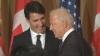 Joe Biden îi atribuie lui Justin Trudeau rolul de garant al echilibrului internațional