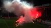HAOS TOTAL la meciul Charleroi - Standard Liege din campionatul Belgia. Partida a fost suspendată