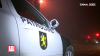 Accident ÎNGOZITOR la Râşcani! Un automobil s-a izbit de un copac şi A LUAT FOC