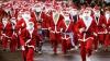 Madrid, Chişinău, acum şi Priştina. Sute de Moşi Crăciuni au alergat pe străzile capitalei din Kosovo